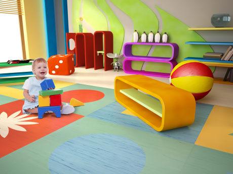 vinylové podlahy do dětského pokoje
