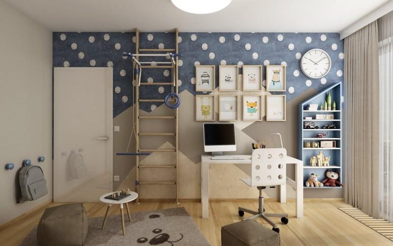 Zařízení pokoje pro školáka
