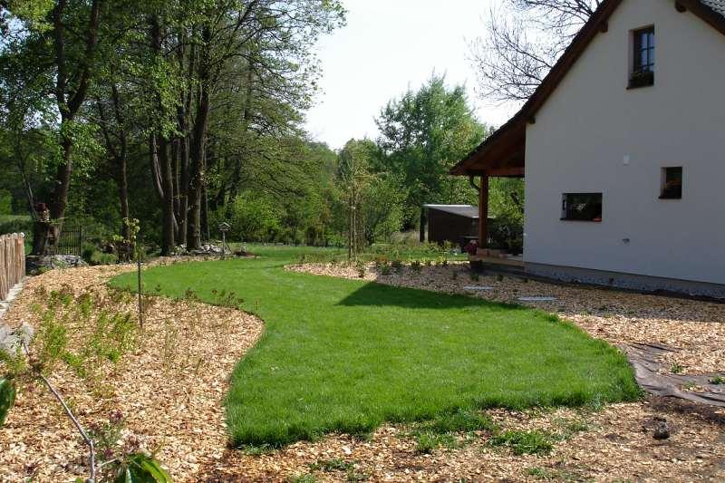 Zahradní travní koberec